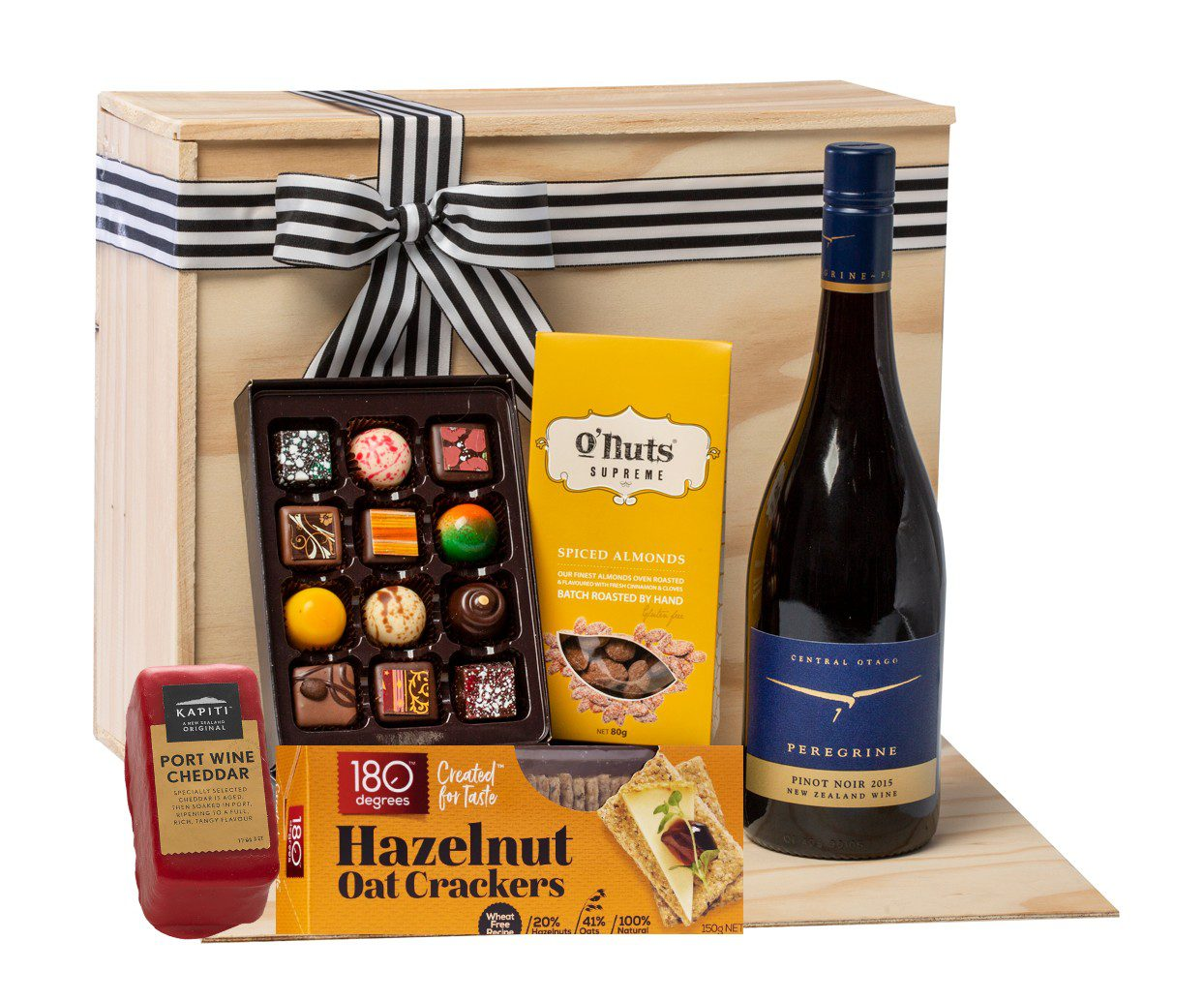 Christmas Cheese & Wine Gift Box