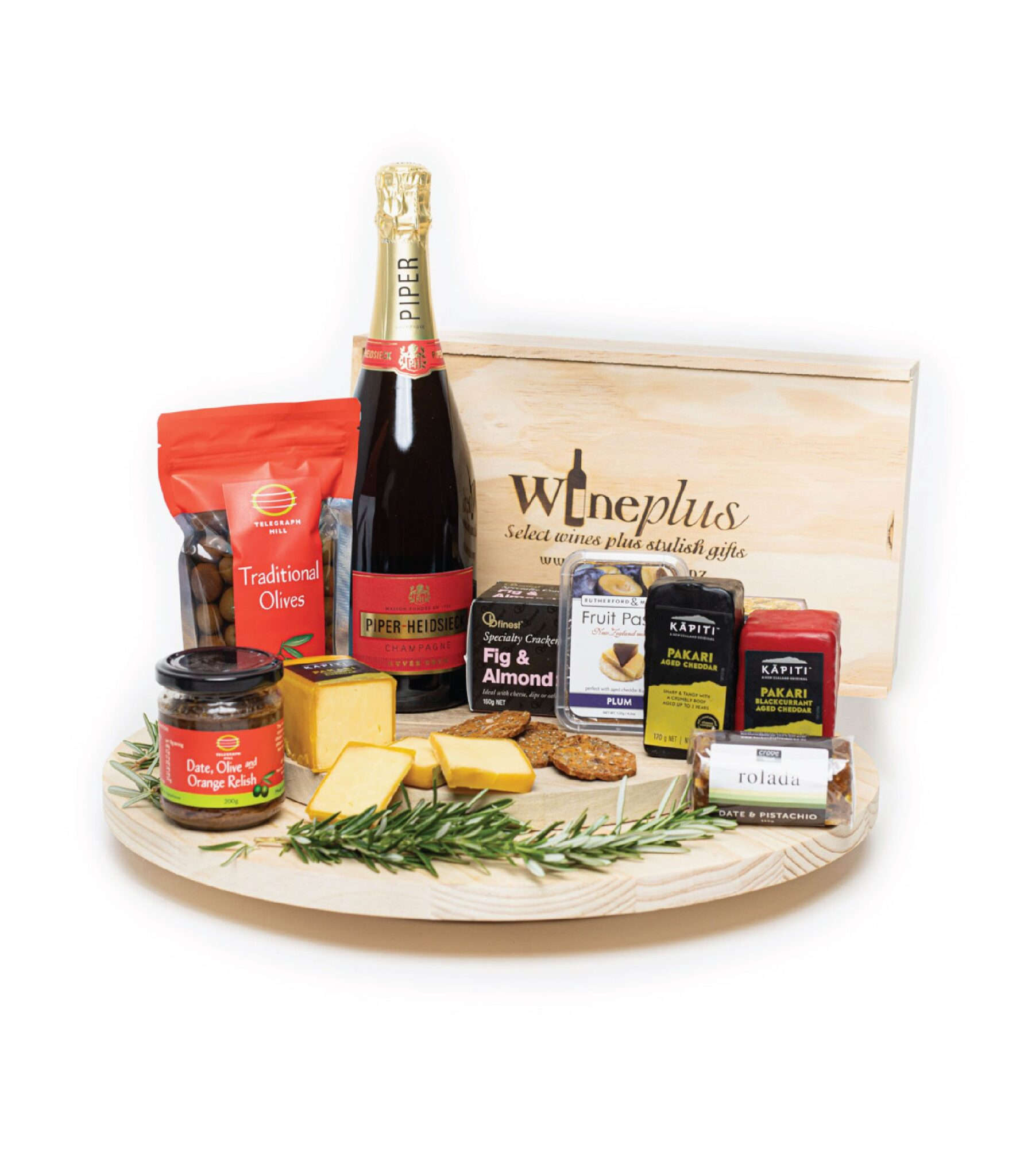 Wine & Cheese Gift Boxes